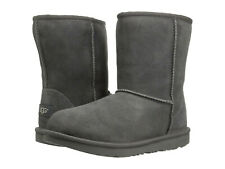 Kids UGG Classic II Boot 1017703K Grey Suede 100% Authentic Brand New