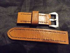 26mm   Handmade quality leather watch strap, Panerai #5