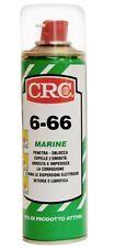 CRC 6-66 MARINE SBLOCCA:BULLONI,PARTI ARRUGGINITE,ELIMINA UMIDITA E CIGOLII