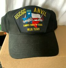 New Us Coast Guard hat cap Uscg Cutter Anvil Wlig 75301 Corpus Christi Texas