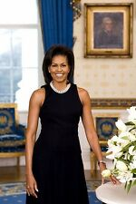 MICHELLE OBAMA *2X3 FRIDGE MAGNET* FIRST LADY OFFICIAL PORTRAIT PRESIDENT BARAK