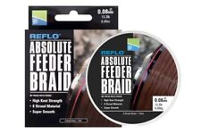 Preston Absolute Feeder Braid 150m Spool 0.12mm 18.5lb 8.4kg