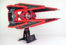 Lego Star Wars Royal Guard TIE Interceptor MOC UCS MOC 1800 parts