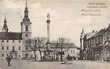 Mlada Boleslav Markt Denkmal 1913
