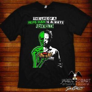 "Repo Man T-shirt ""Miller"" 80s punk scifi 1984 cult classic movie"