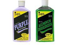 Purple Metal Polish 355ml + Aluminum Deoxidizer 355ml - EXPRESS POST LISTING!