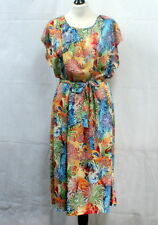 Robe multicolore vintage 80's