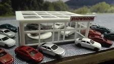 Autohaus | Showroom  | LED | mit Motor | Drehscheibe | Spur N Fertigmodell