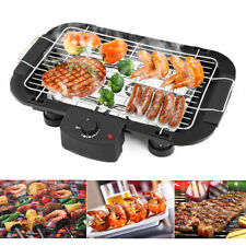 Electric Teppanyaki BBQ Grill Table Smokeless Hot Plate Non stick Barbeque O