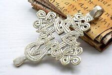 Pendant cross Processional Superb silver