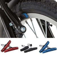 1 Pair Bicycle Bike V Brake Pads Shoes V-Brakes Blocks For MTB Cycling