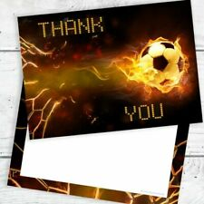Football Thank You Cards - A6 Postcard Style With Envelopes (pack 10)