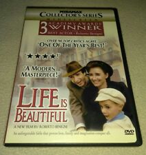 Life Is Beautiful (Dvd, 1999, Collectors Edition, Widescreen) Rare oop
