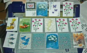 32 MINI GIFT NOTELETS WHEN ENVELOPES ARE NOT NEEDED [FREE P&P]