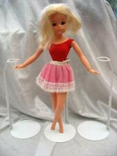 ONE x WHITE GENUINE KAISER DOLL STAND EXTENDABLE SINDY TAMMY BARBIE NEW
