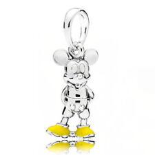 Fashion 1pcs mouse european Charm Silver Alloy  bead Bracelet Necklace Chain #1