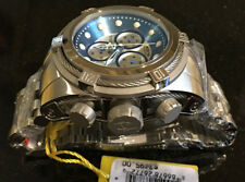 @New Invicta Reserve 52mm Bolt Zeus Quartz Chronograph 21803 Stainless Bracelet