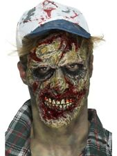 Foam Latex Zombie Face Prosthetic Adult Mens Halloween Fancy Dress
