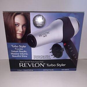 Revlon Turbo Styler 1875 Watt Hair Dryer