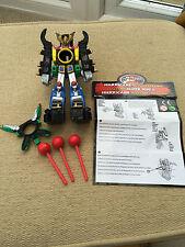 POWER Rangers Ninja Storm Hurricane Megazord Mini figura con missili