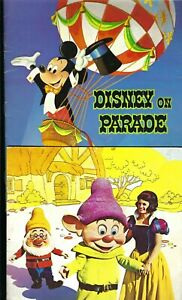 2 x Vintage Disney on Parade Tour Programs Australia 1971 & 1974