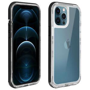 Coque iPhone 12 Pro Max Étanche Anti-chute 2m, Lifeproof NËXT - Transparent