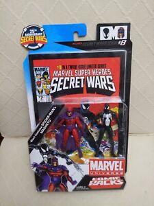 """2009 Marvel Universe Comic Pack Secret Wars #8 Magneto 3.75"""" Figure"""