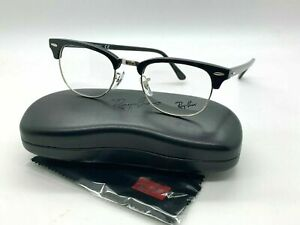 NEW  Ray Ban Eyeglass Frames RB 5154 2000 BLACK  49-21-140MM /CASE