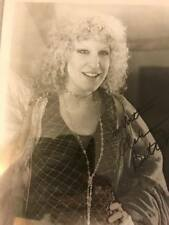 BETTE MIDLER Signed Photo Autographed 8x10
