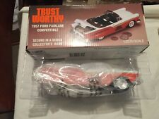 VINTAGE TRUSTWORTHY HARDWARE 1957 Ford Fairlane Convertible 1/25 Scale Bank