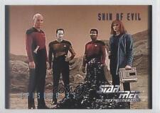 1994 SkyBox Star Trek The Next Generation Season 1 #23 Skin of Evil Card 0q0