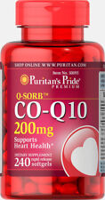 PURITANS PRIDE CO ENZYME COQ10 200MG, x240 Softgels CO Q-10 - HEART HEALTH