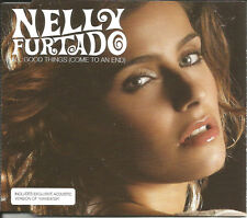 NELLY FURTADO All Good things EDIT & MANEATER LIVE CD single SEALED USA Seller