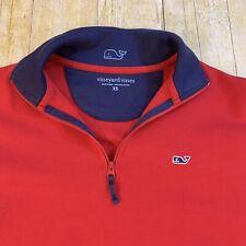 Vineyard Vines 1/4 Zip Sweater Men's XS Pima Cotton