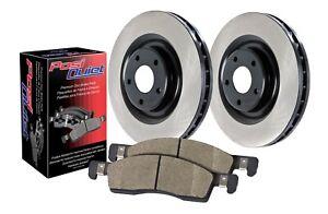 StopTech For 08-16 Subaru Impreza/WRX Rear Disc Brake Pad Rotor Kit - 909.47511