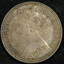 More details for florin victoria gothic aef mdccclxxxiii 1883 (t75)