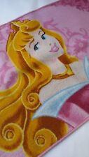 Tappeto Principessa Disney antiscivolo 100x150 cm cameretta rosa. B31
