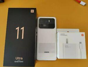 Xiaomi mi 11 Ultra Unlocked Ceramic White 12+256G Bundle CN ROM