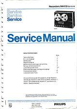 Manuel d'instructions pour Philips N SERVICE 4419