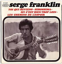 SERGE FRANKLIN Hiroshima 1966 French 60s mod Beatnick Folk rock Freakbeat