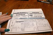Map Silver City & Deming Nm