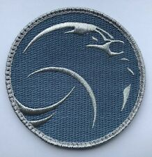 """Dear Moon Embroieded 4"""" Patch NASA Mission ISS Space X Dragon Falcon"""