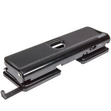 Rapesco 720 Black A4 A5 A6 Paper 4 Hole Puncher Punch Office Desk Accessory