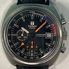 Tissot Navigator Yachting Lemania 1341 Automatic Swiss Chronograph Wristwatch