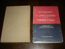 LES TAPISSERIES DE L'APOCALYPSE DE LA CATHEDRALE D'ANGERS - 1942  Maine-et-Loire