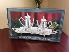 International Sterling Company Plated Silver Tea Set no. 9911 5025