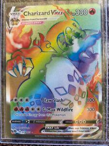 Pokémon Mystery Pack - Lottery - Vmax Charizard 74/73 - Read Description!