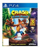 Crash Bandicoot N.Sane Trilogy Digital Download (Sony PlayStation 4, 2017)