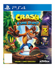 Crash Bandicoot N.Sane Trilogy Digital Download (Sony PlayStation 4, 2017)