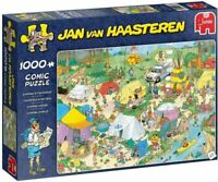 Jan Van Haasteren 19086 Camping in the Forest 1000 piece Jigsaw Puzzle JVH